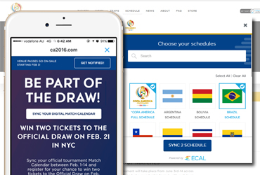 Copa America - Building a connected audience to drive sales