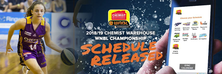 WNBL fixtures for 2018/19 released